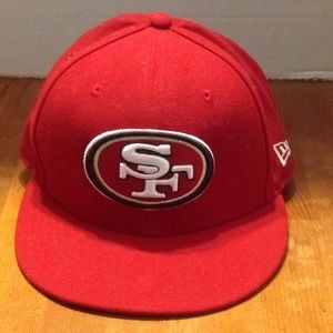 SF niners fitted cap